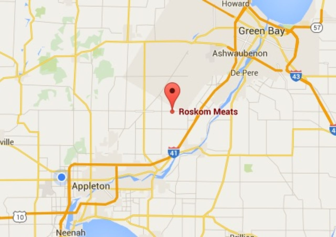 Roskom Meats Map